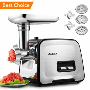 ALTRA Stainless Steel electric meat grinder