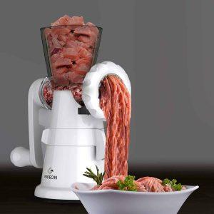 Gideon Hand Crank Meat Grinder