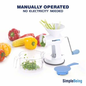 Manual Meat Grinder Set by Simple Being