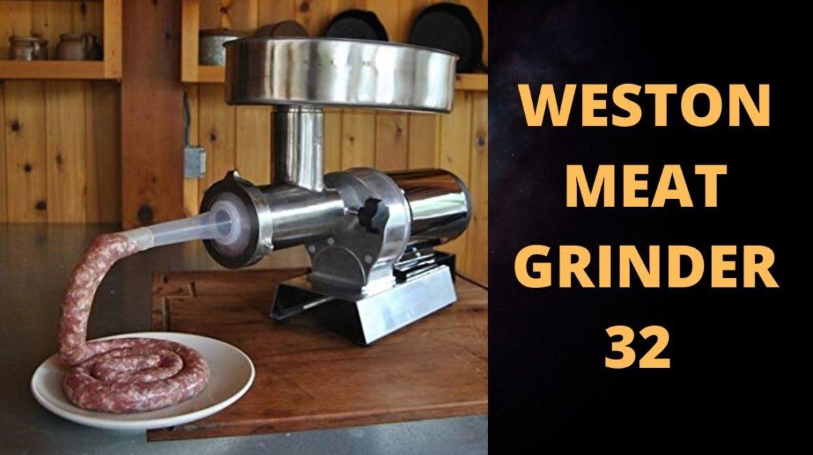 Weston Meat Grinder 32