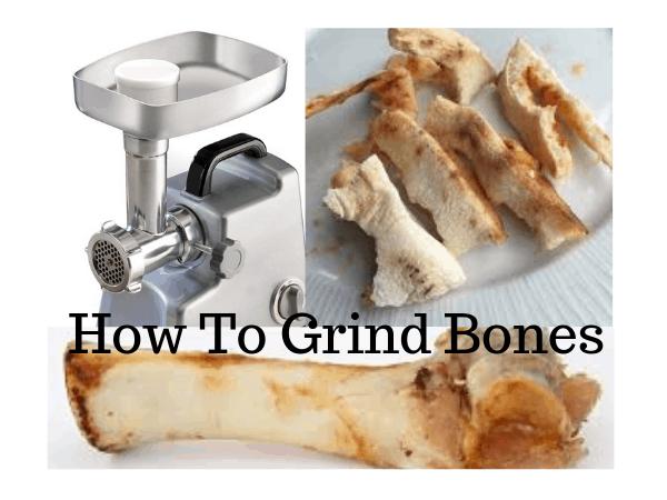 How To Grind Bones
