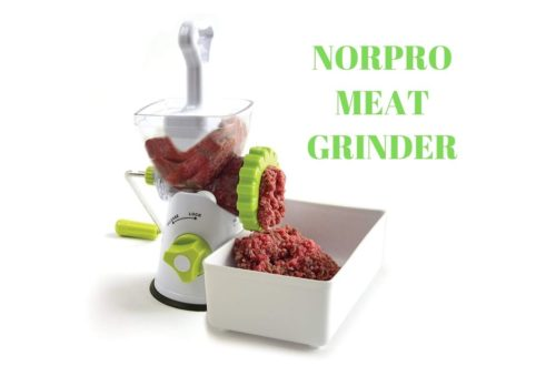 Norpro meat grinder review