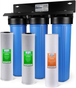 iSpring WGB32B 3-Stage Whole House Water Filter