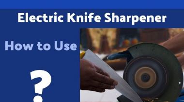 How to Use an Electric Knife Sharpener?